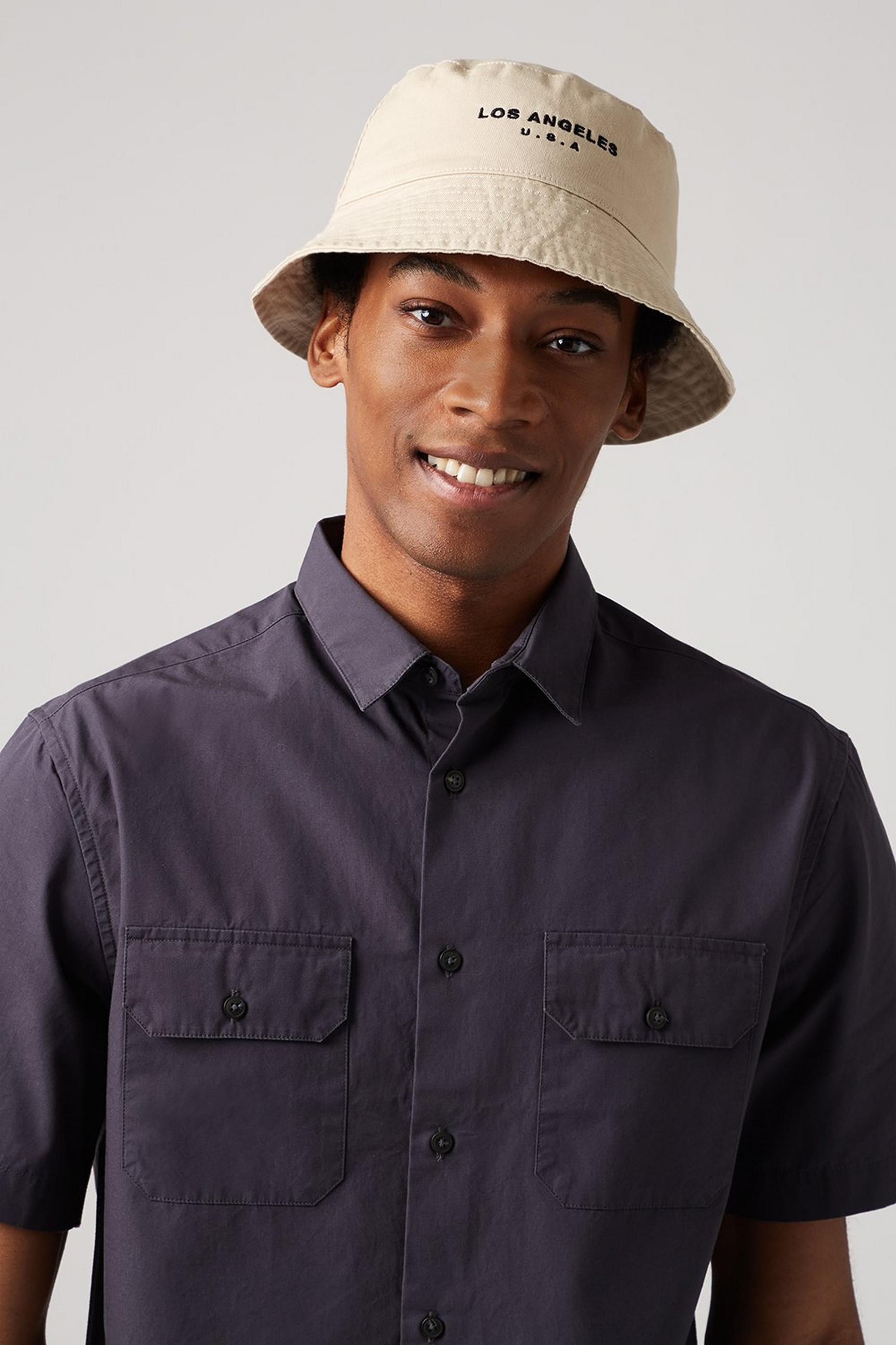 Stone Los Angeles Bucket Hat