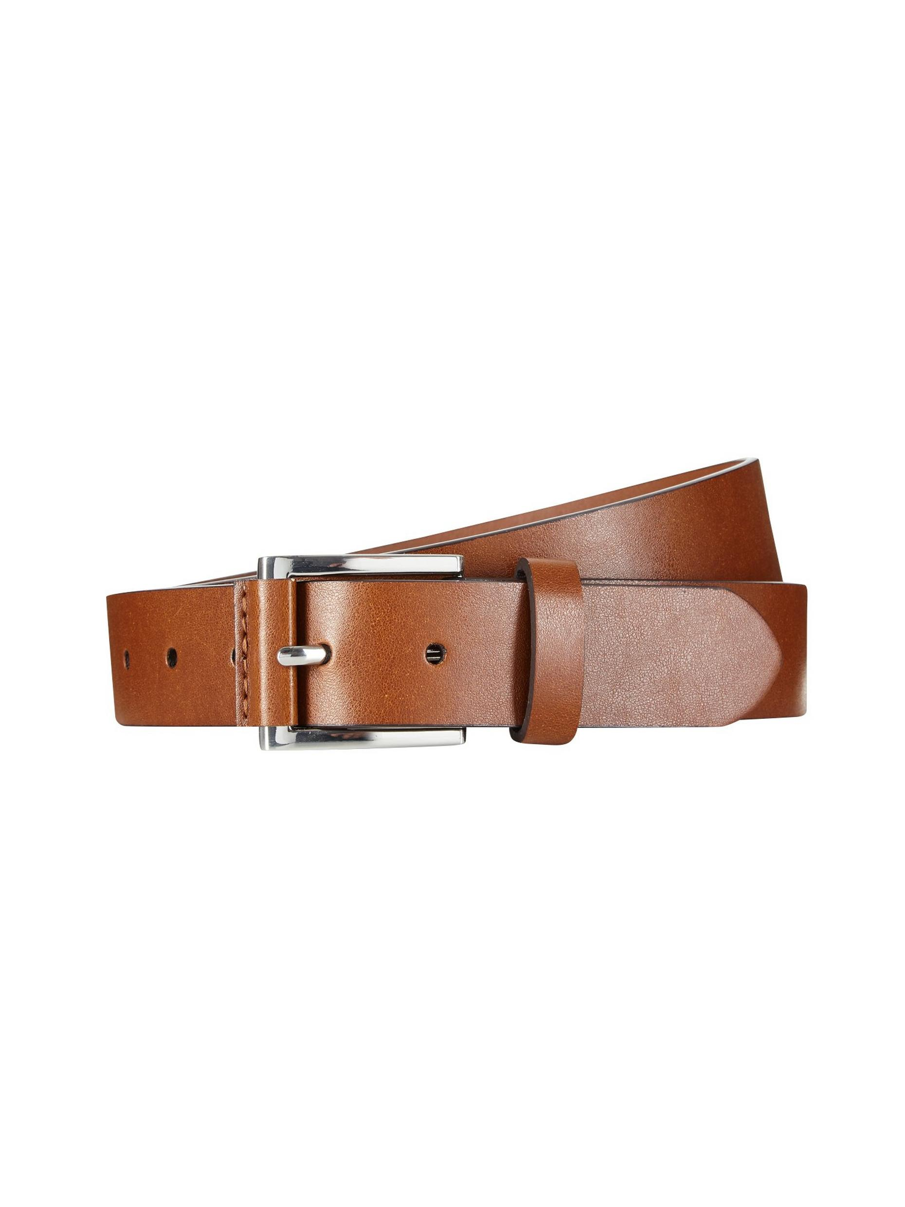 Brown Tab Detail Belt
