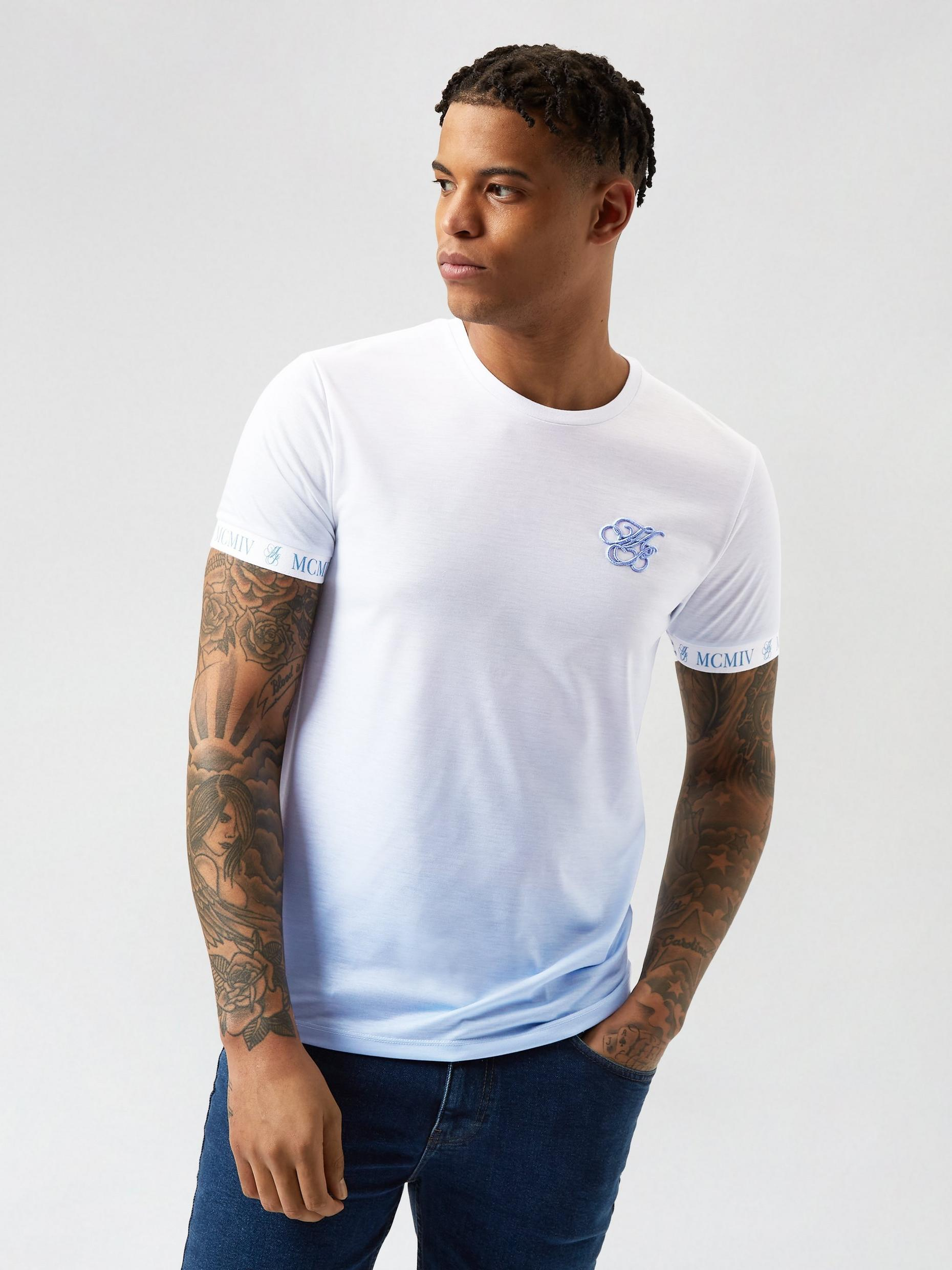 Blue Iconic Fade Up TShirt