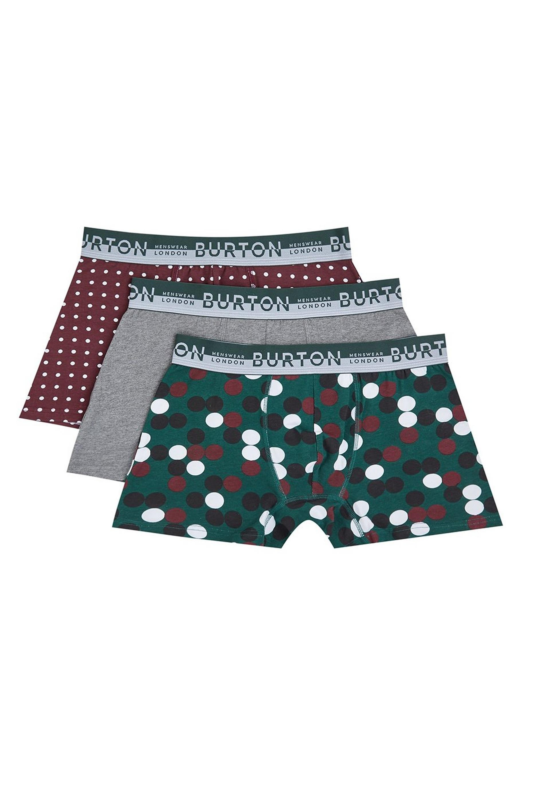 Dotted Trunks 3 Pack