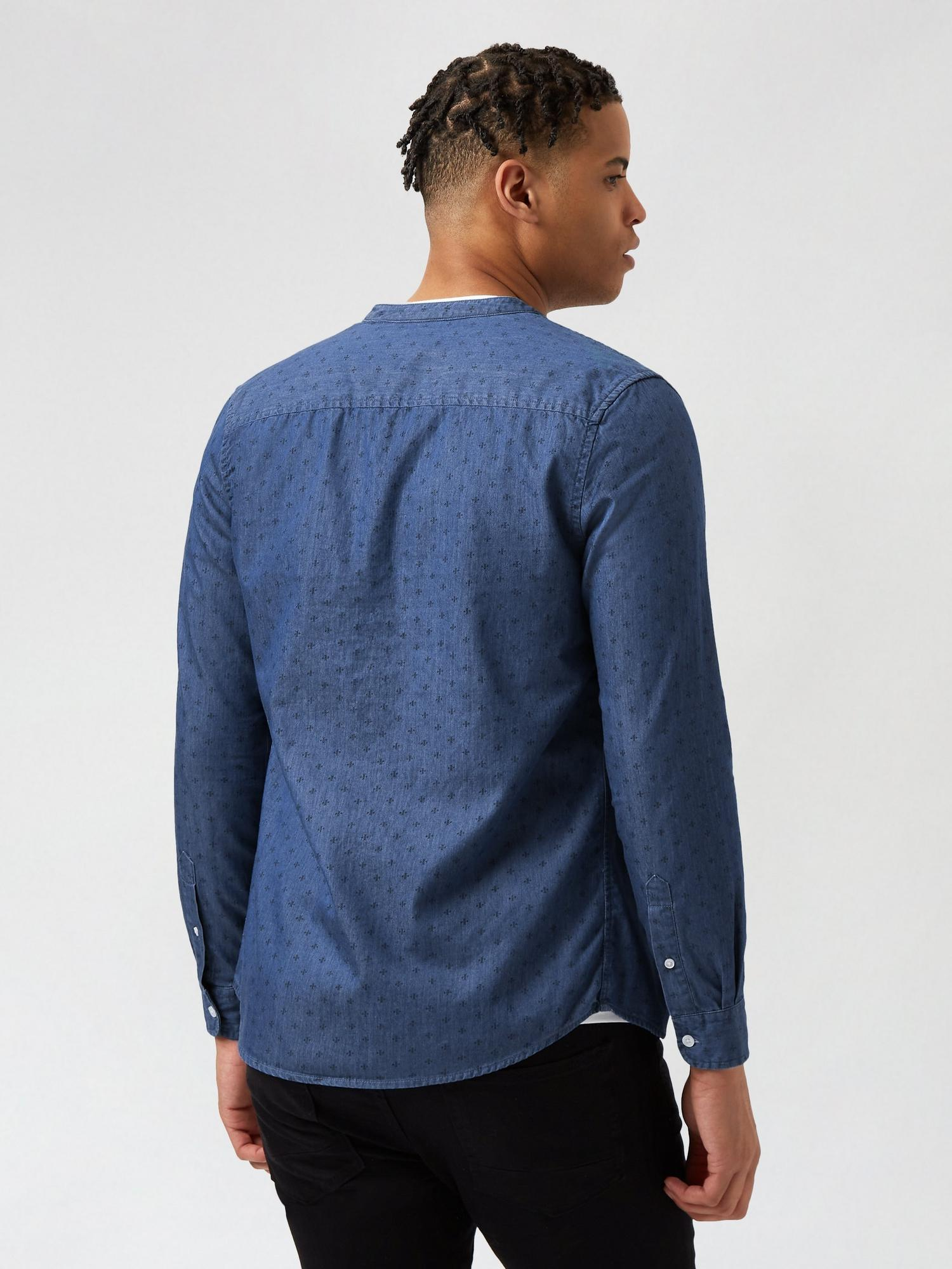 340 Denim Printed Shirt image number 3