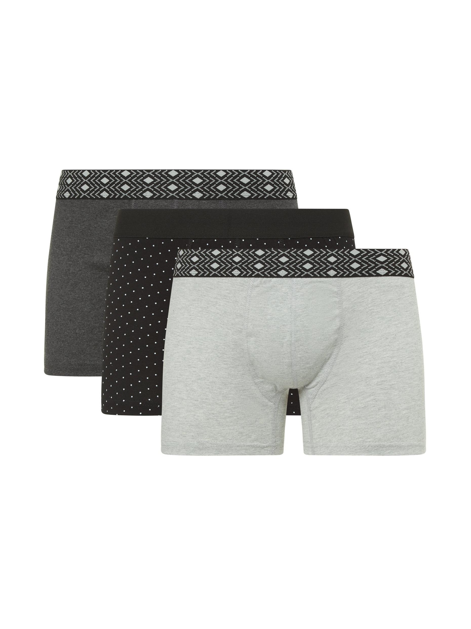 3 Pack Monochrome Trunks