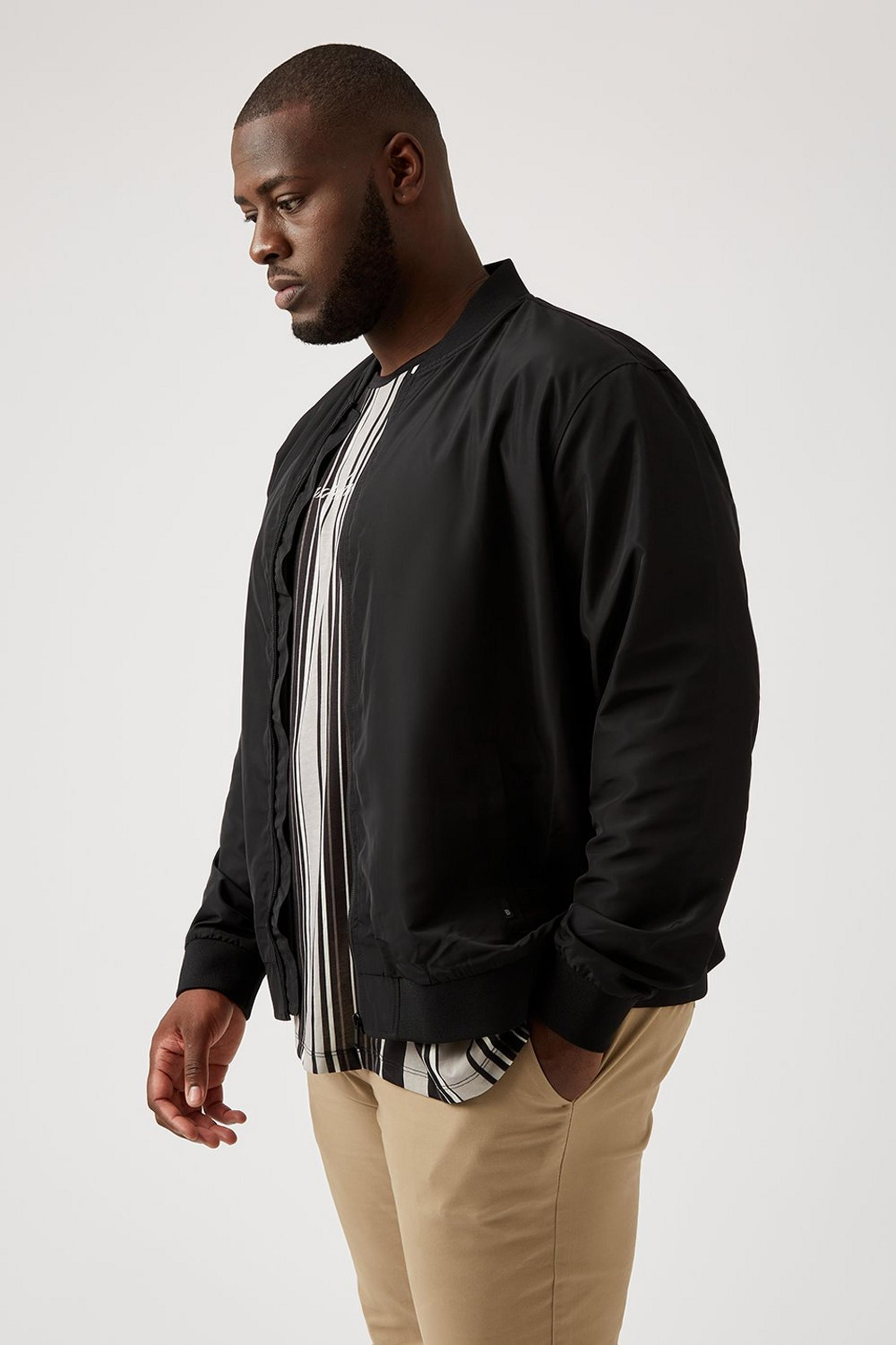 Plus and Tall Recycled Bomber Jacket