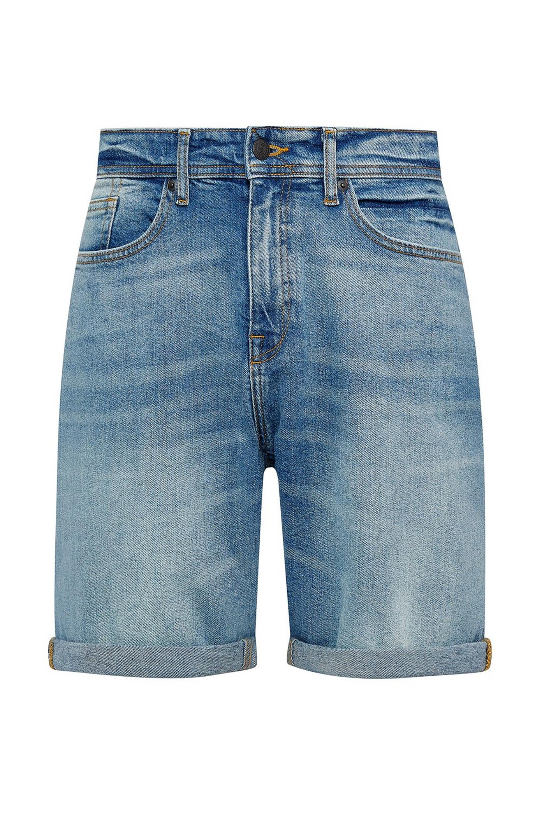 Vintage Wash Relaxed Organic Shorts