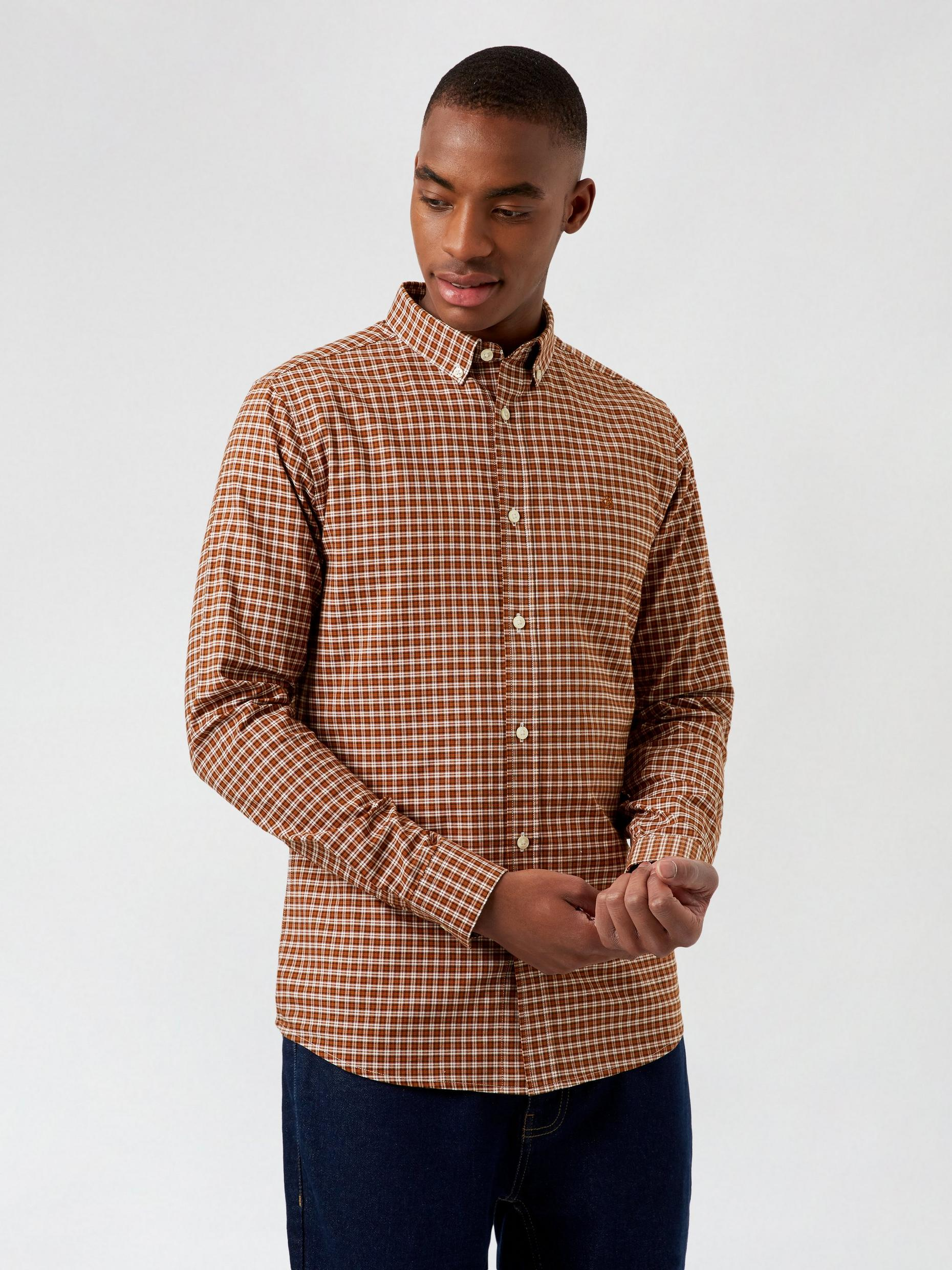 Ginger Mini Check Shirt