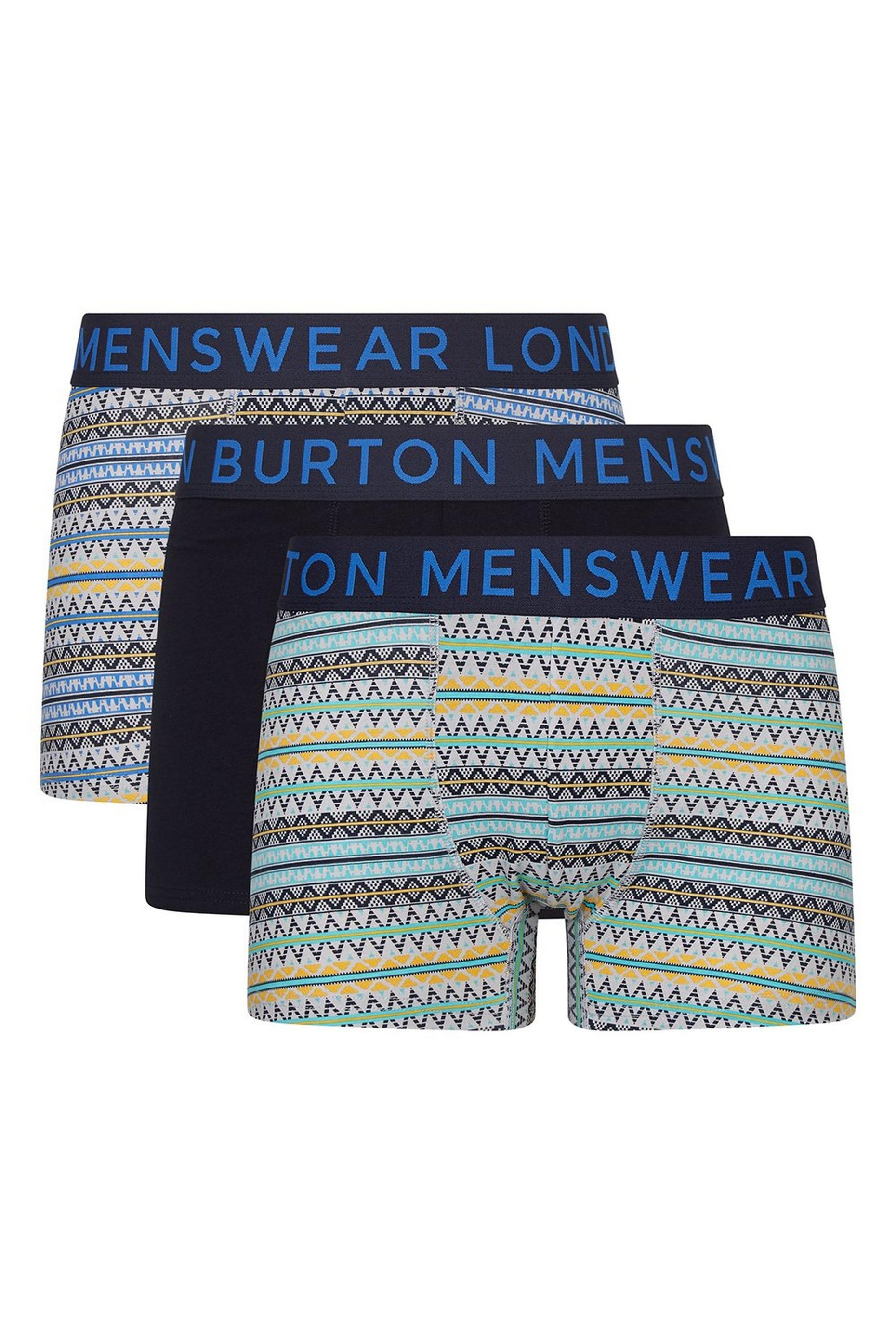 3 Pack Mexican Print Trunks
