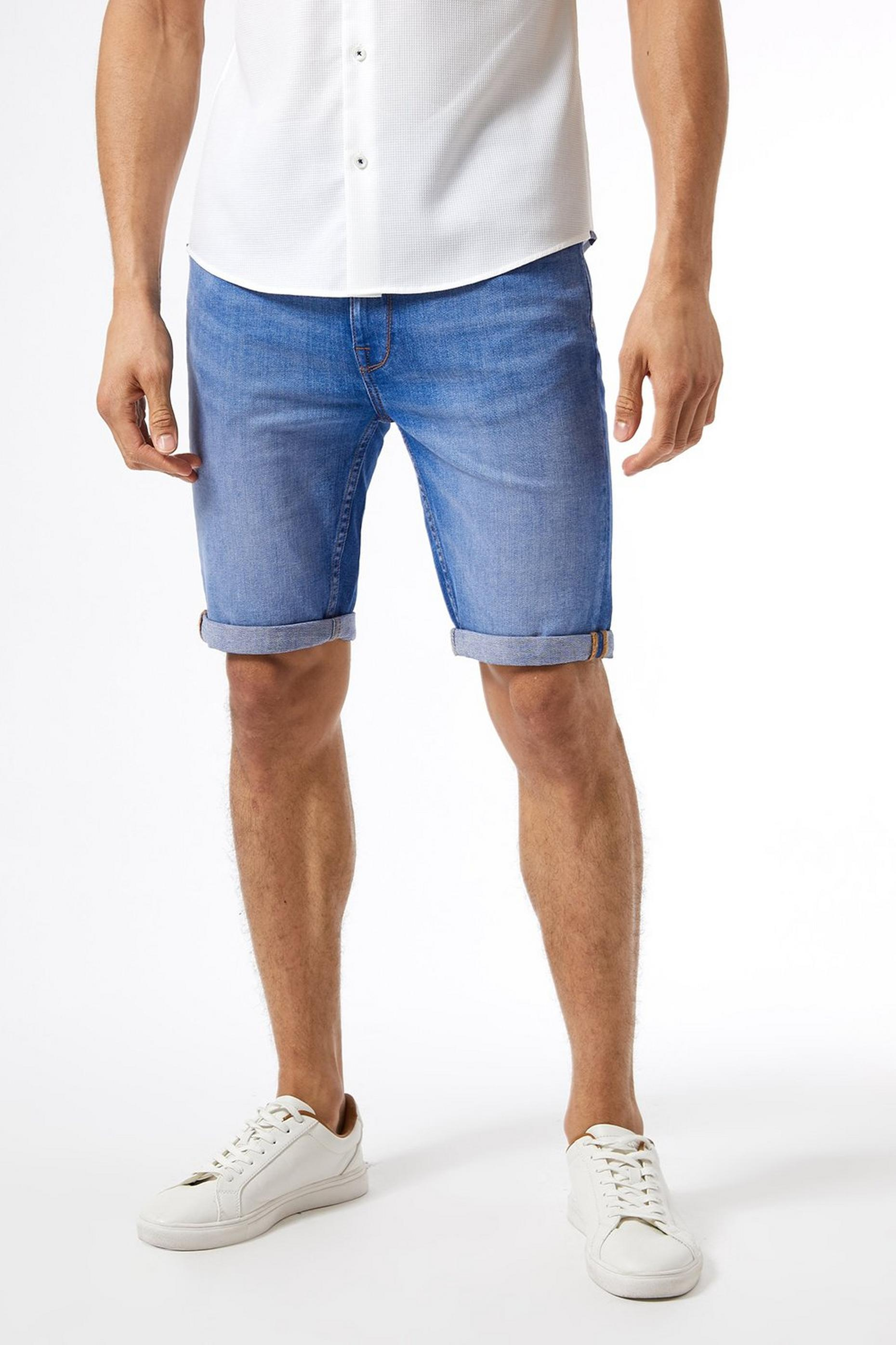 Hyperblue Skinny Fit Shorts