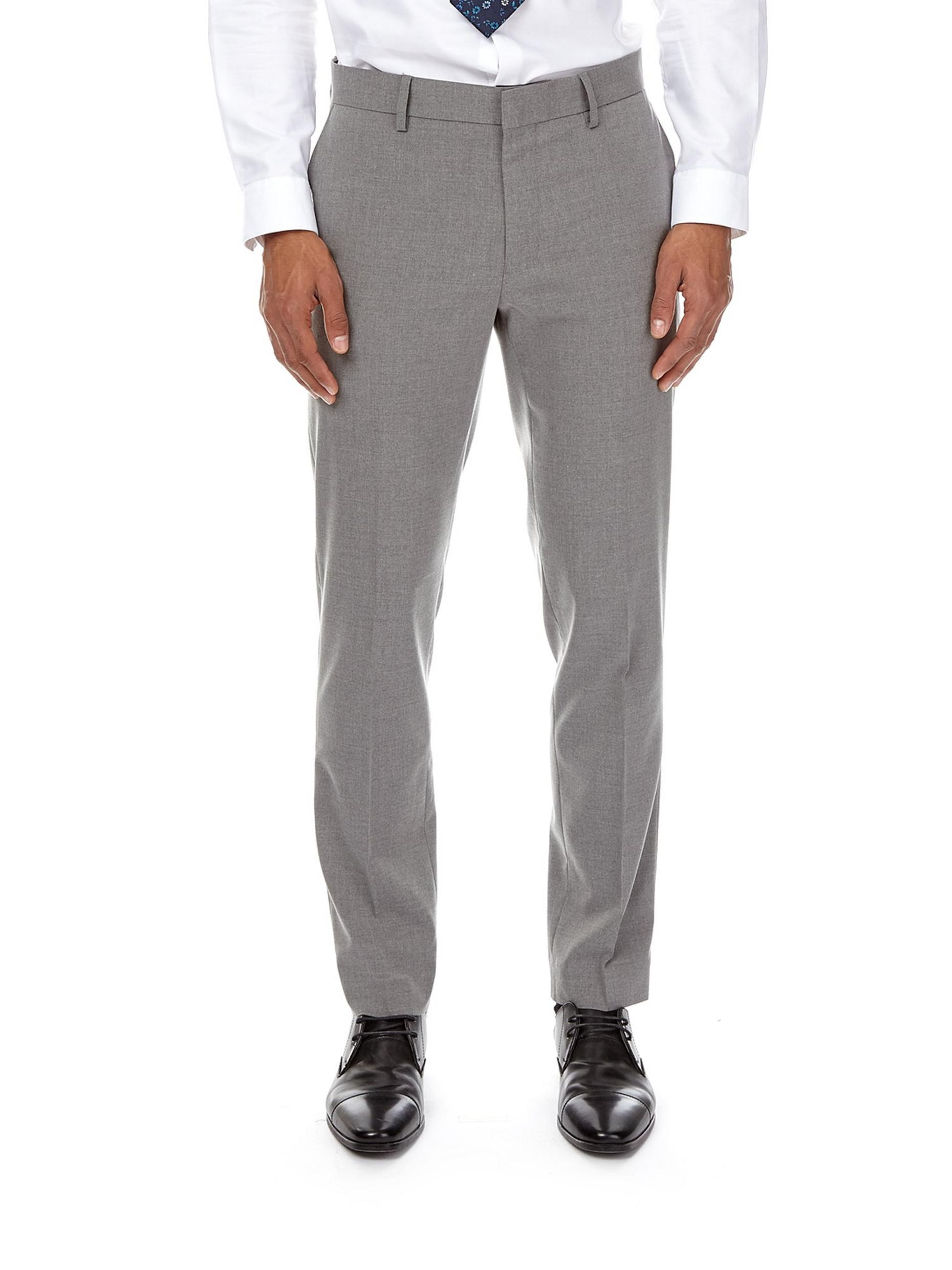 Essential Light Grey Skinny Fit Suit Trousers