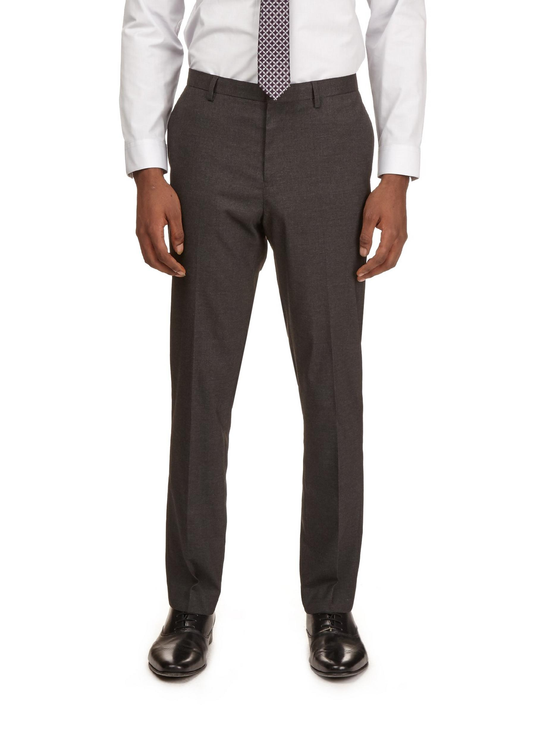 Dark Grey Essential Slim Fit Suit Trousers