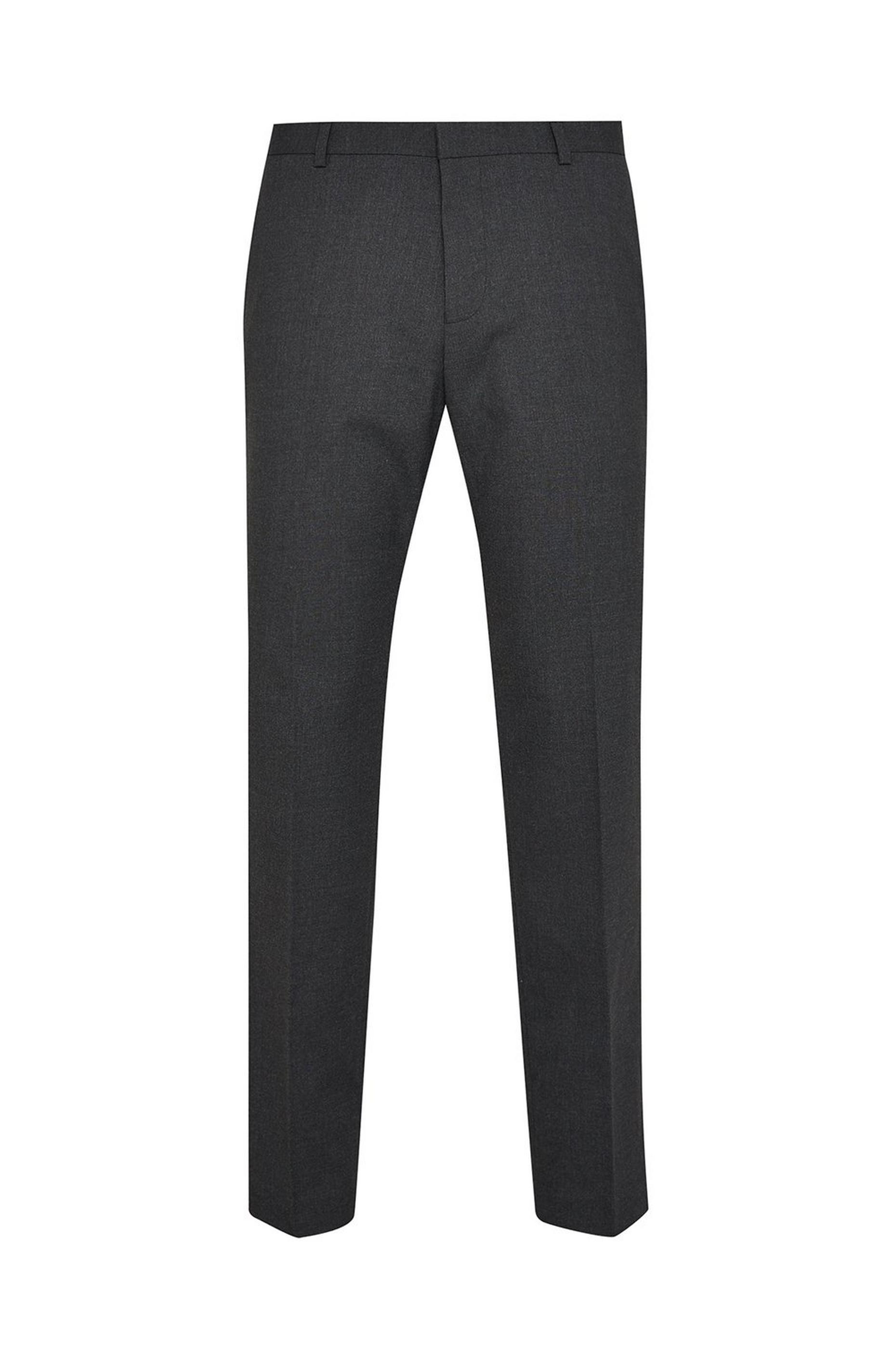 Grey Essential Tailored Fit Suit Trousers