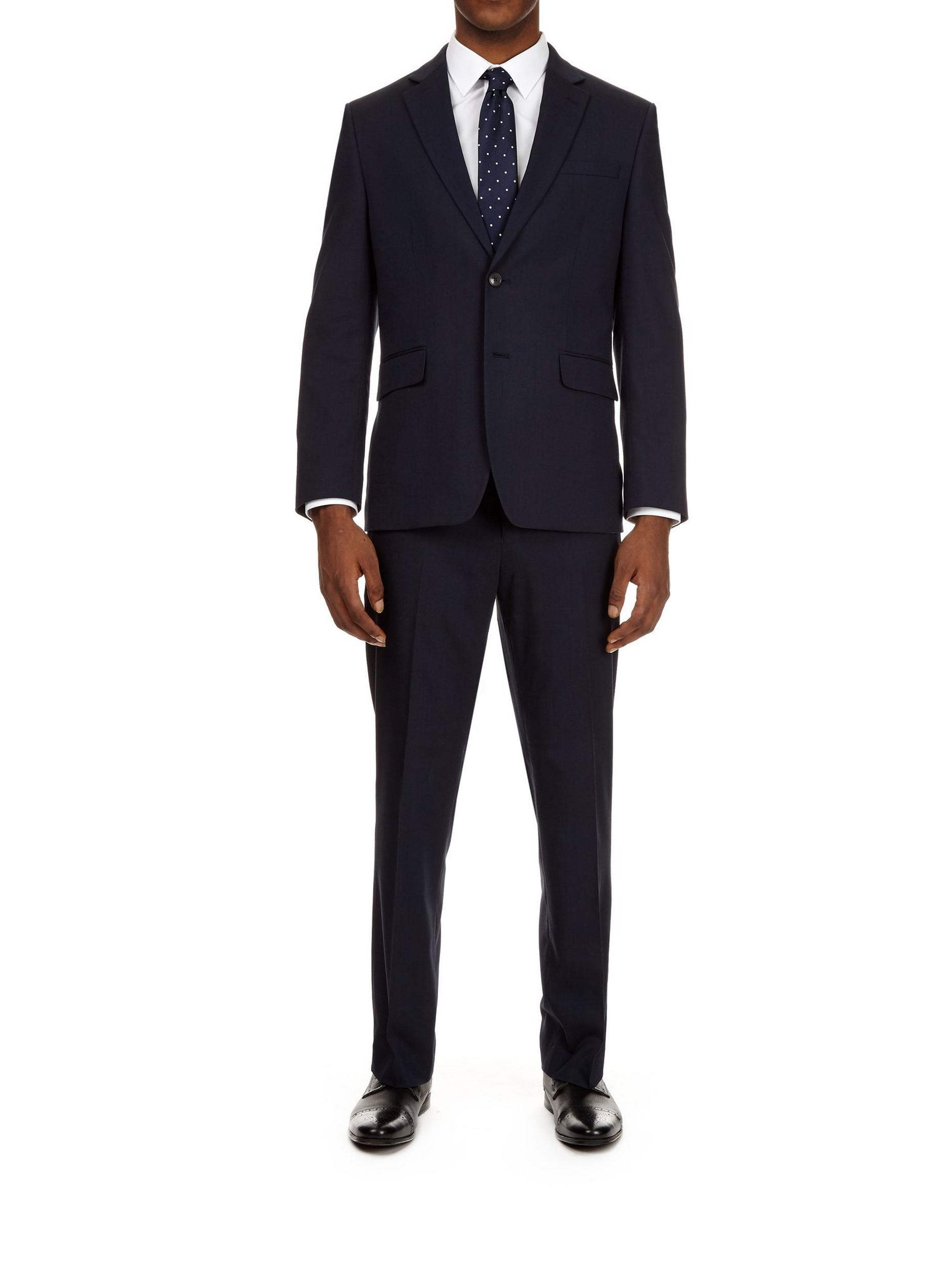 Tailored Fit Essential Navy Suit Jacket
