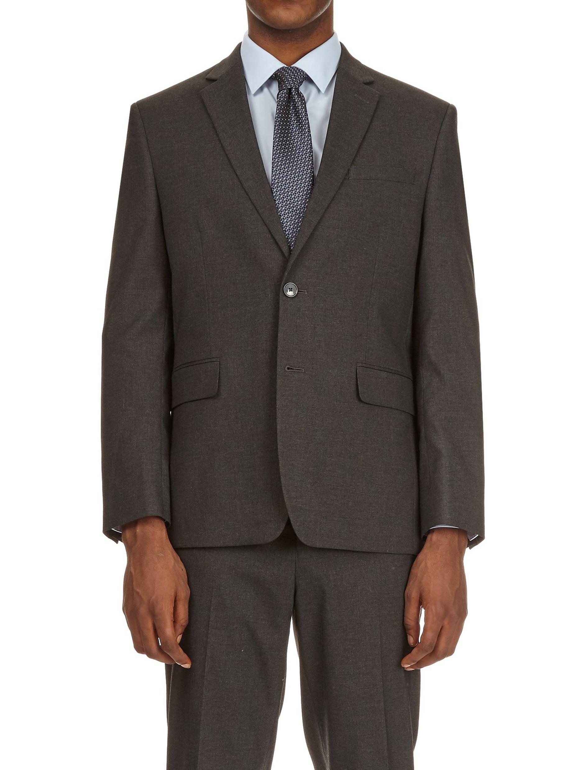 Dark Grey Essential Tailored Fit Suit Jacket