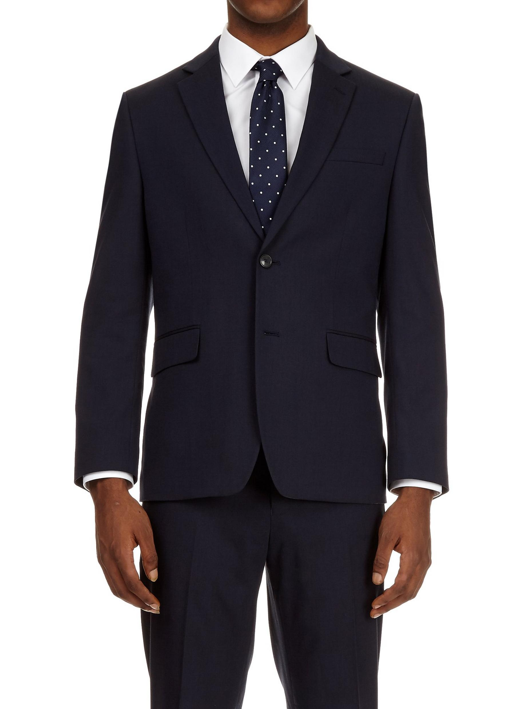 Tailored Essential Navy Suit Trousers