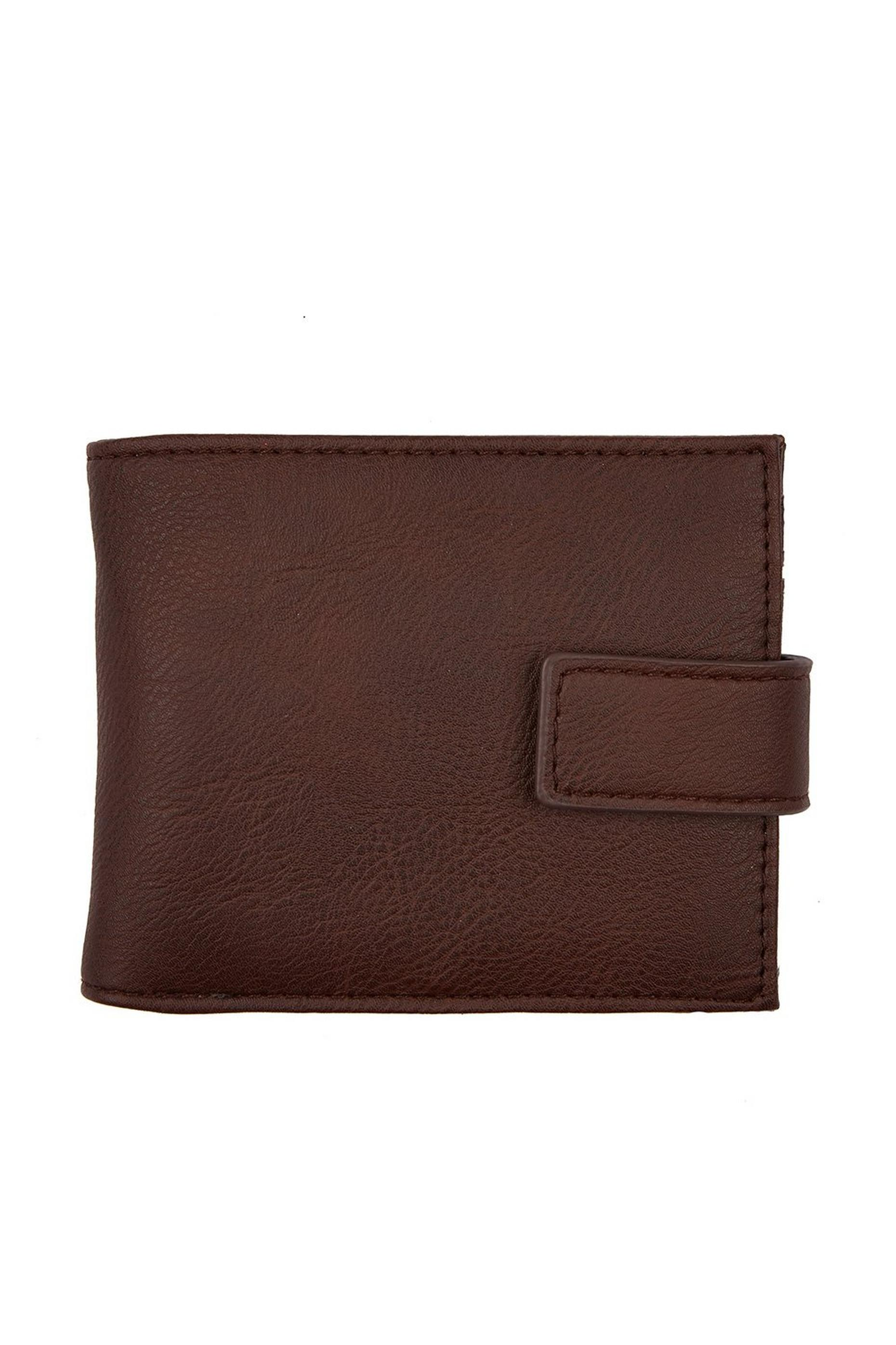 Brown Clasp Wallet