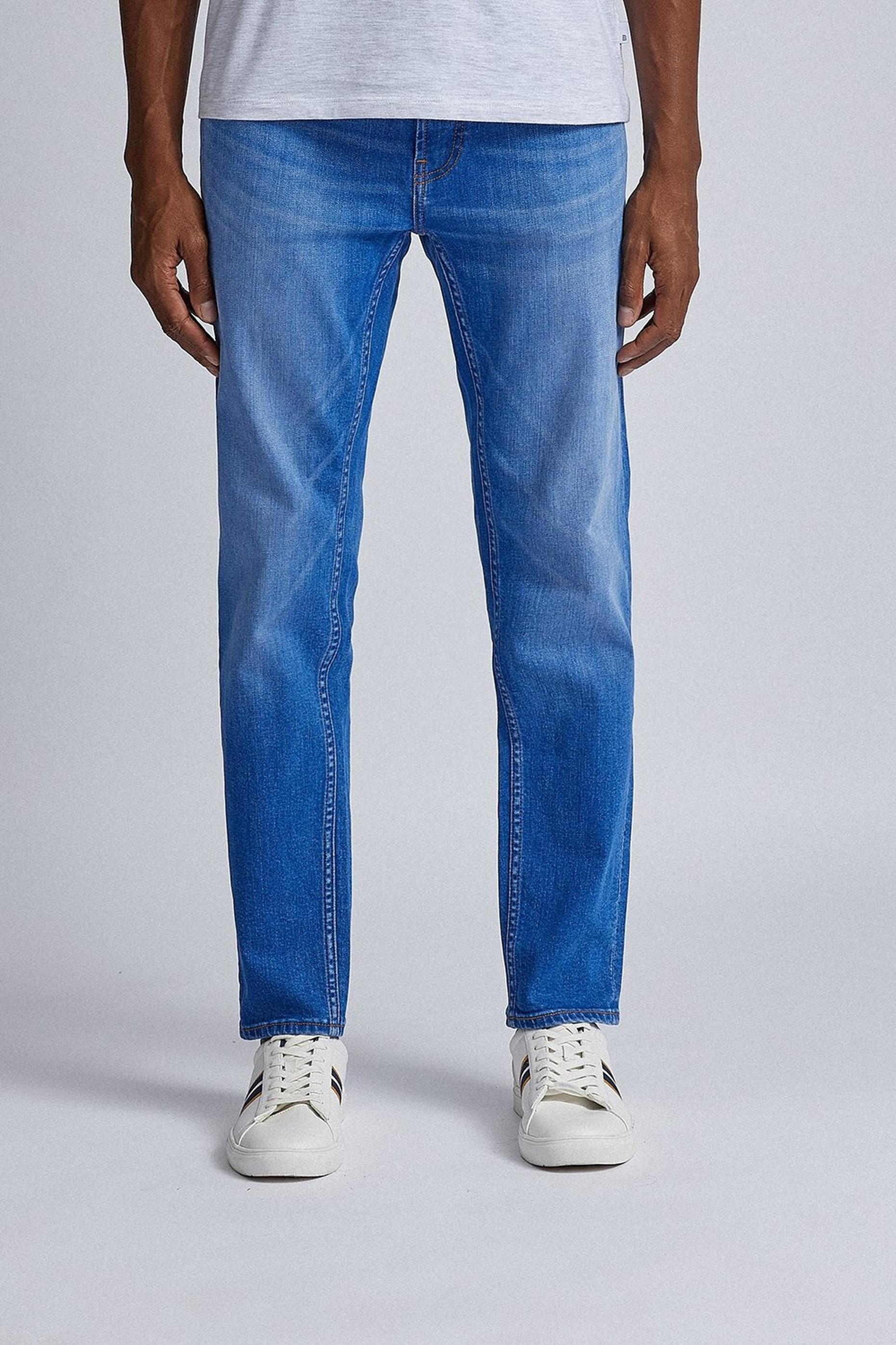 Tapered Hyperblue Organic Jeans