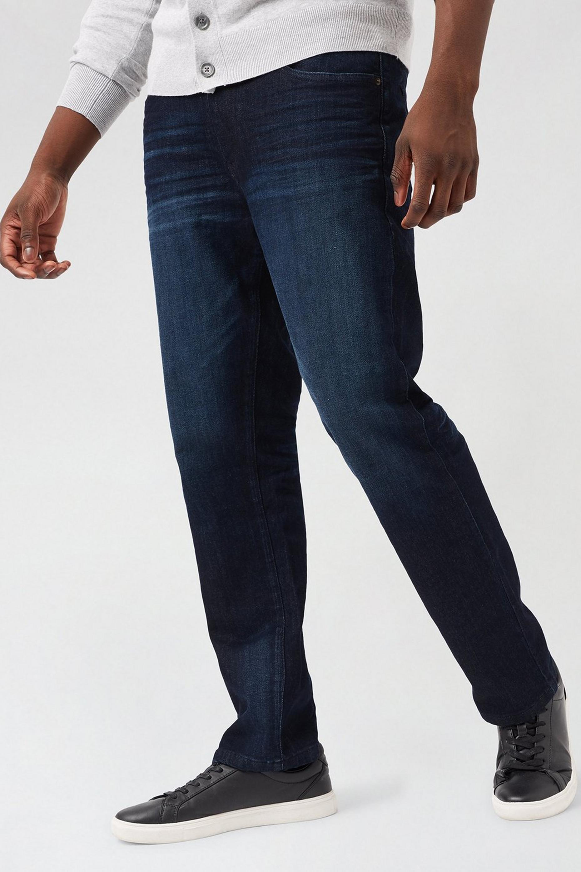 Blue Logan Straight Fit Authentic Jeans