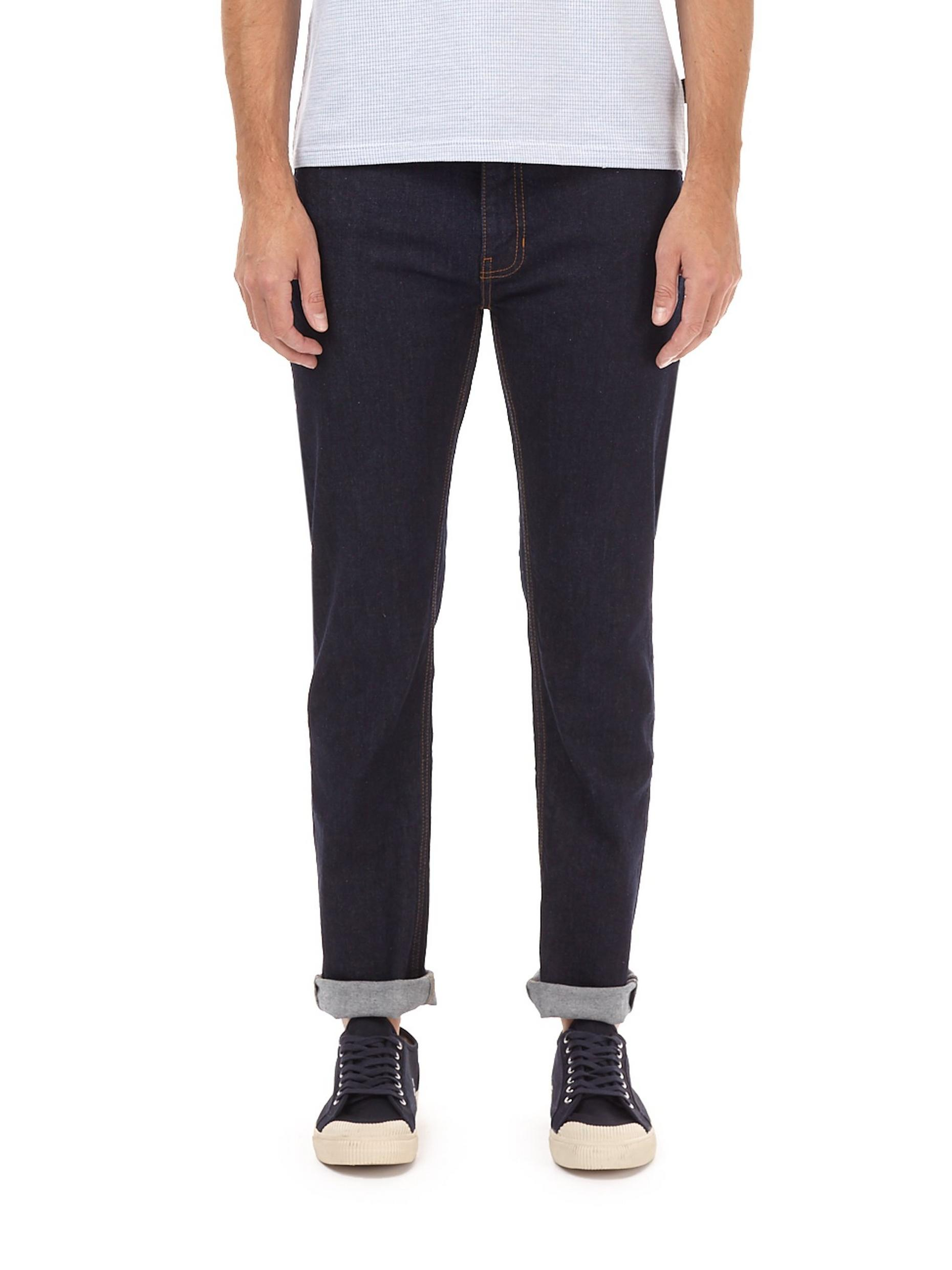 Blue Blake Slim Fit Rinse Denim Jeans