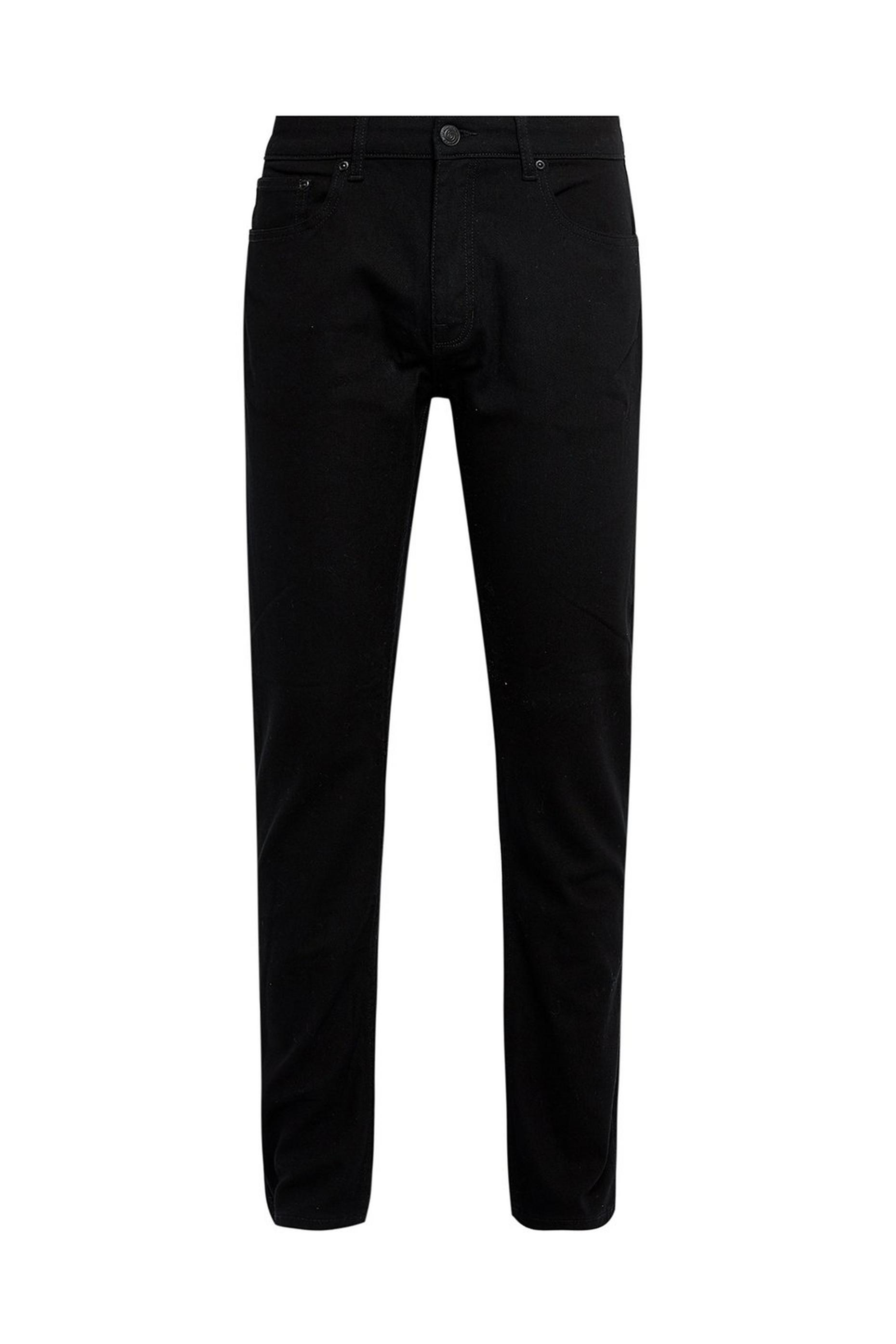 Black Slim Fit Organic Jeans