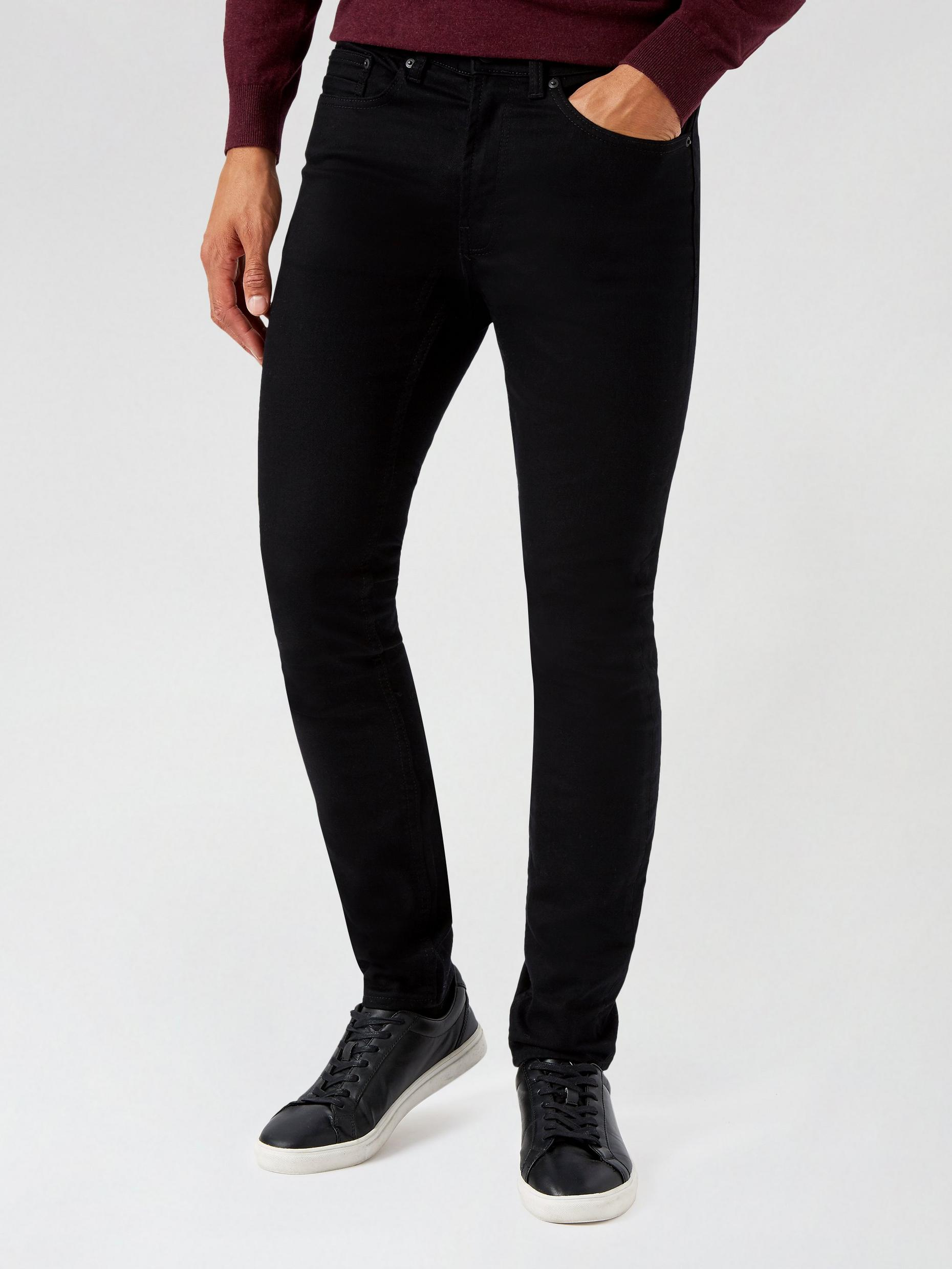 Black Skinny Jeans With Organic Cotton