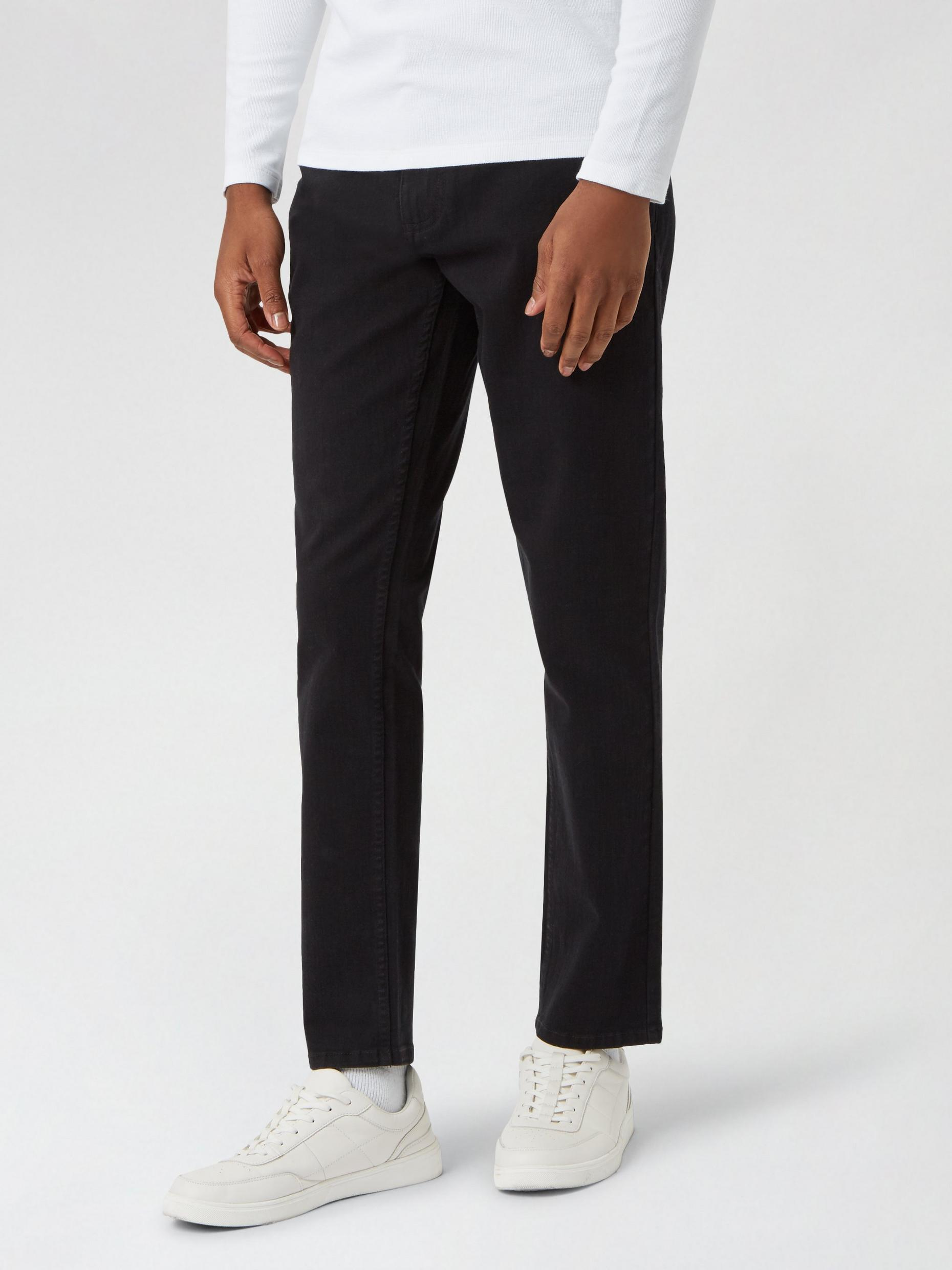 Black Carter Tapered Fit Jeans