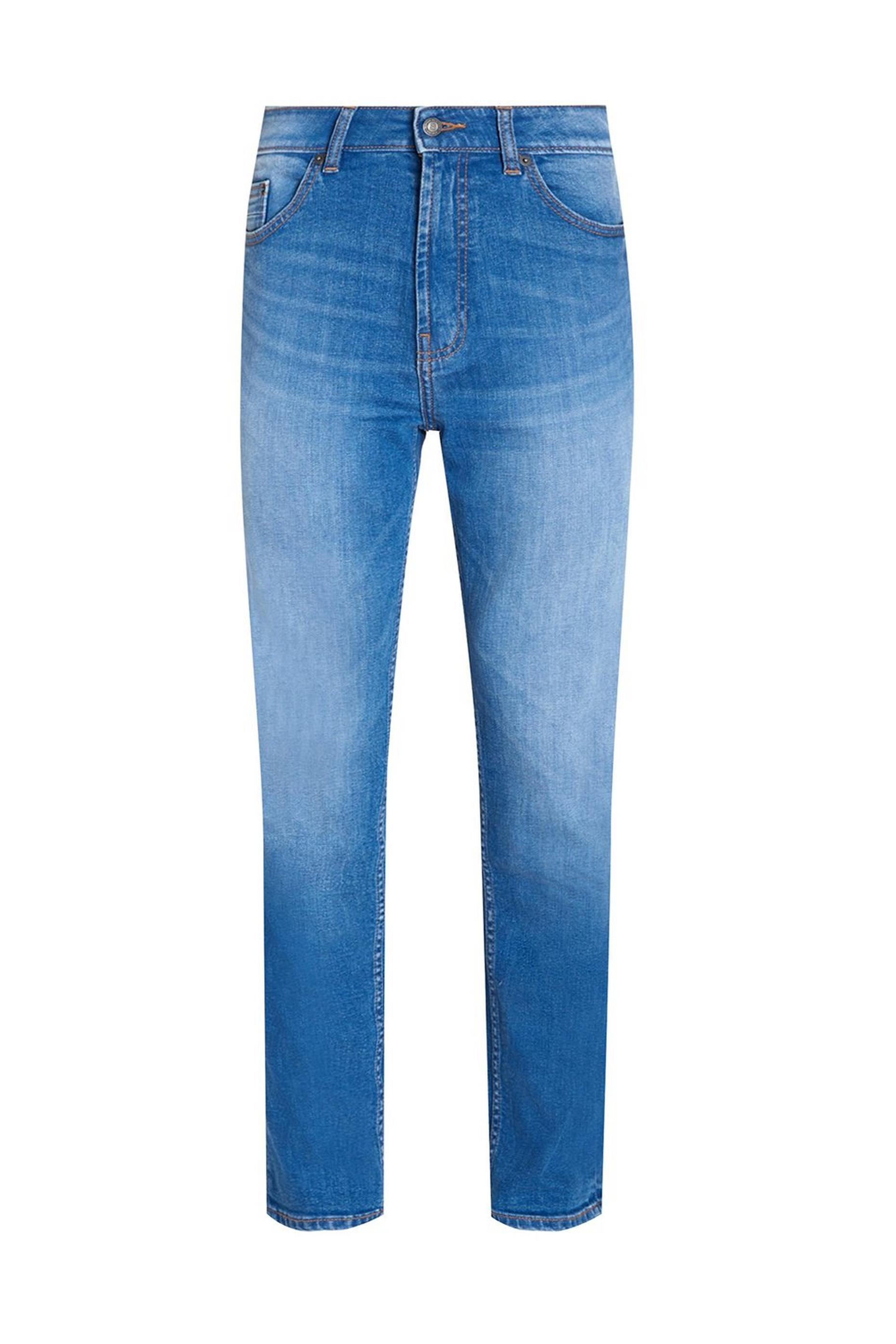 Tapered Hyperblue Organic Jean