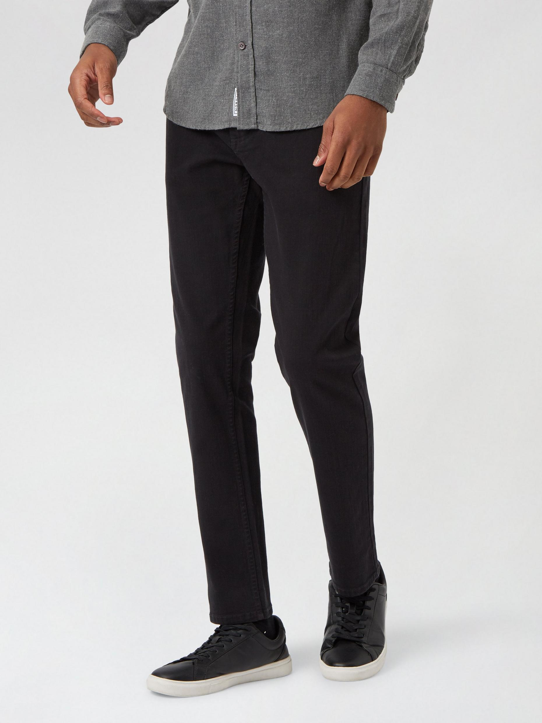Jet Black Slim Fit Blake Jeans