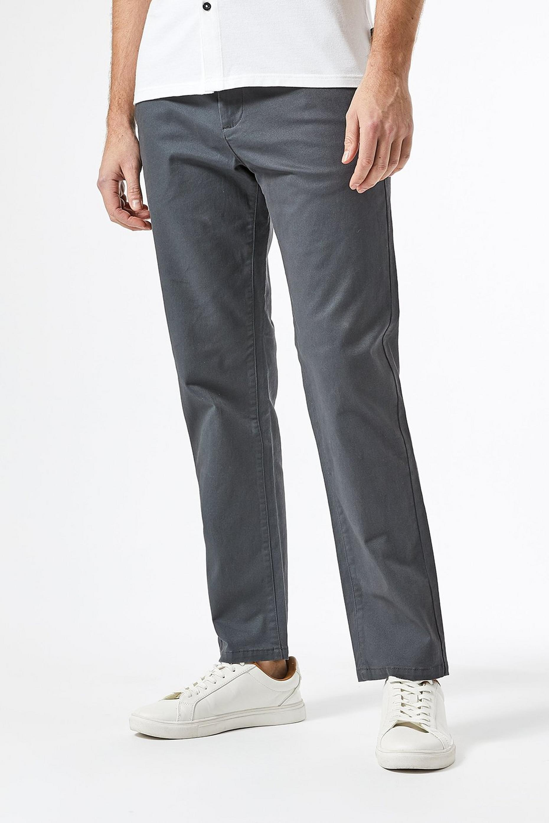 Slim Fit Charcoal Chino