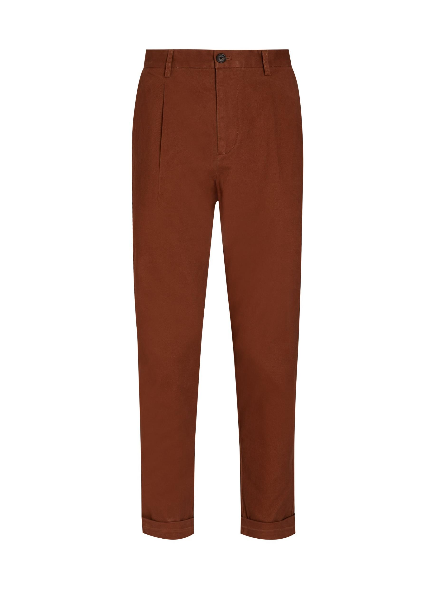 Toffee Wide Leg Chinos