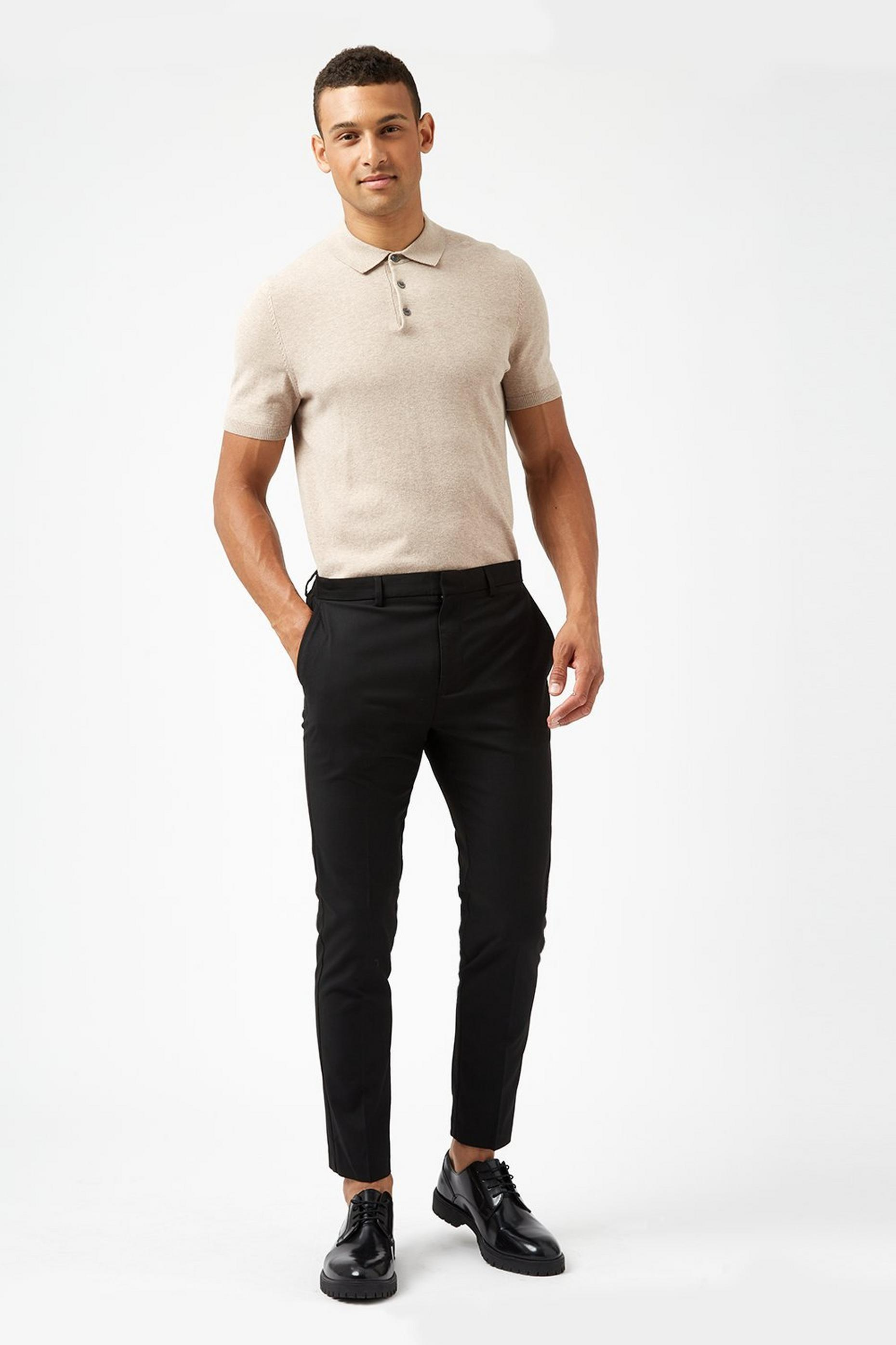 Black Super Skinny Fit Trousers