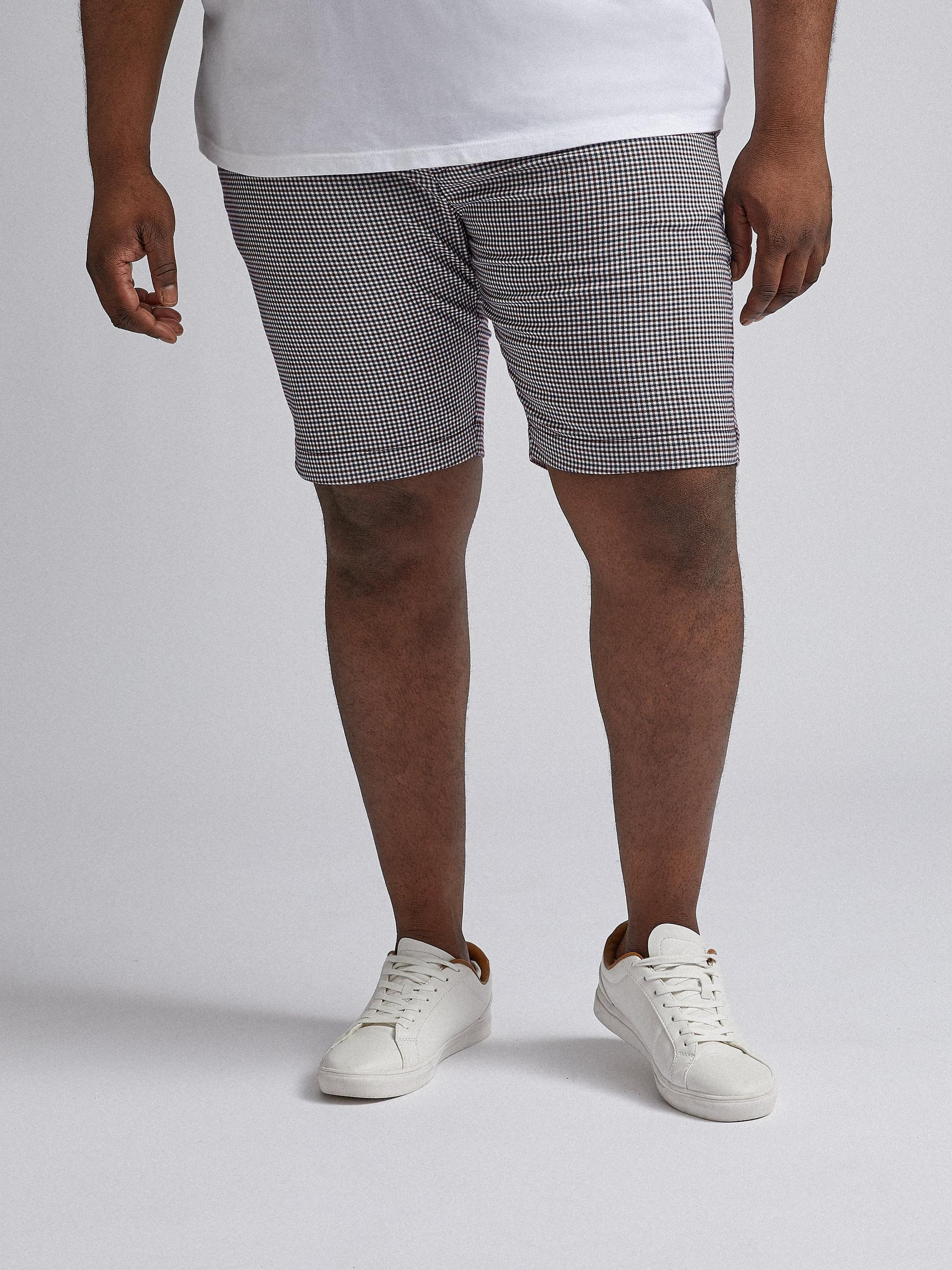 Plus and Tall Check Shorts
