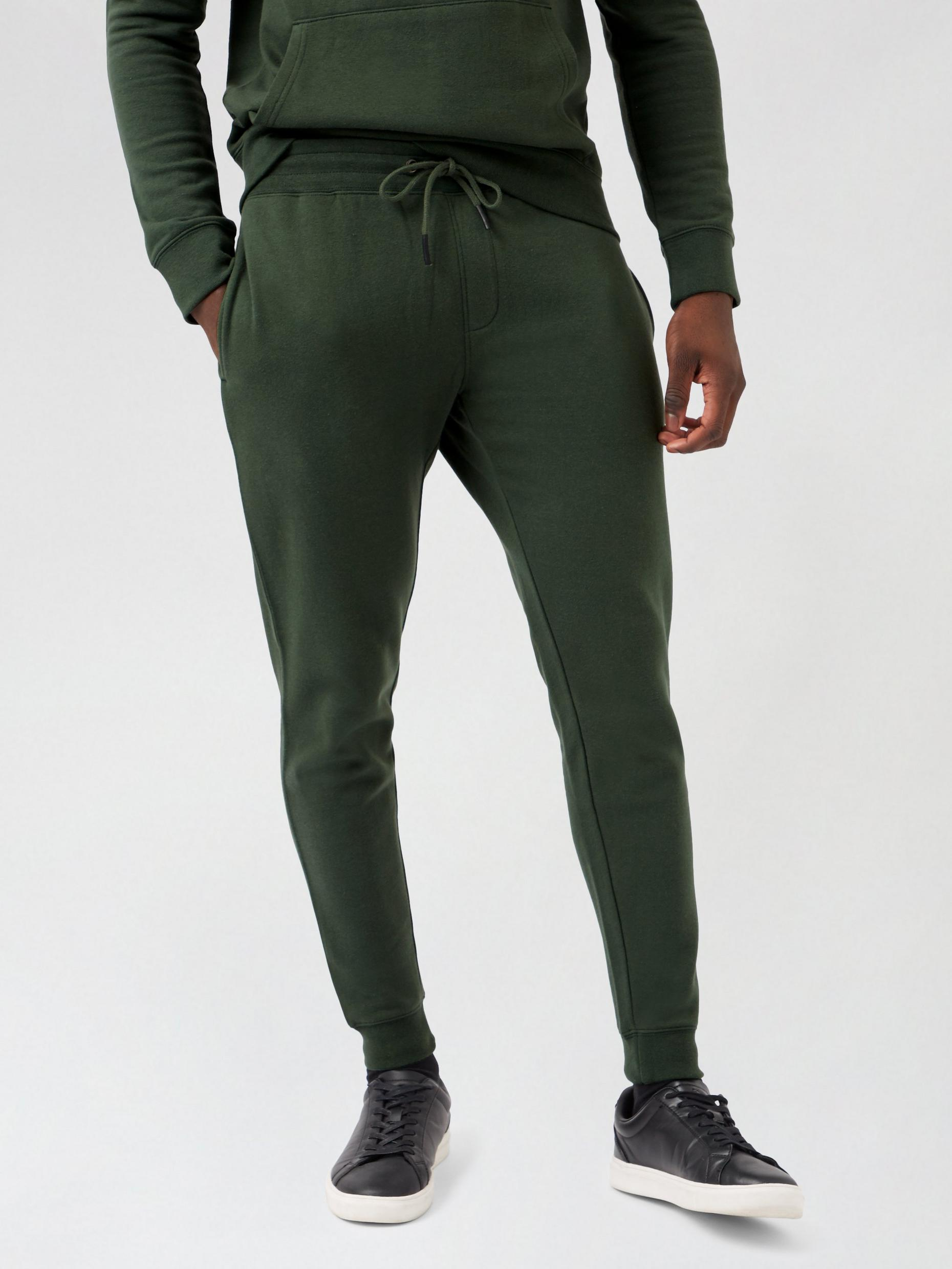 Khaki Muscle Fit Joggers