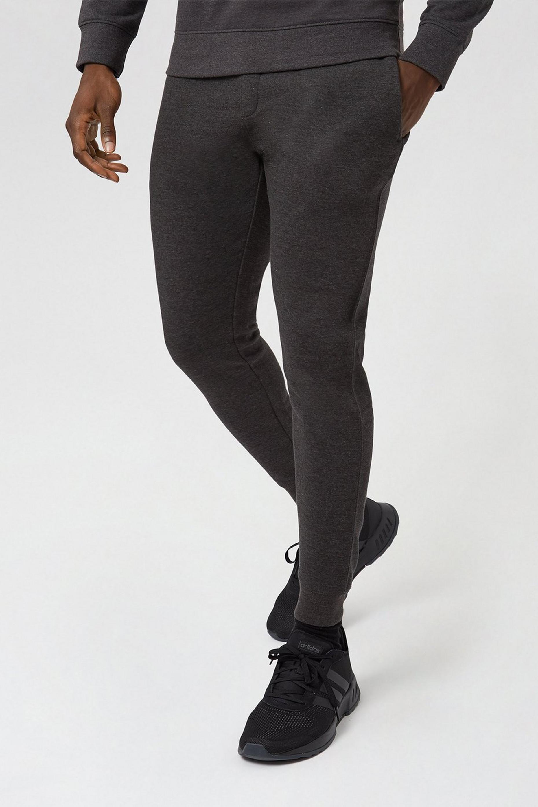 Charcoal Muscle Fit Joggers