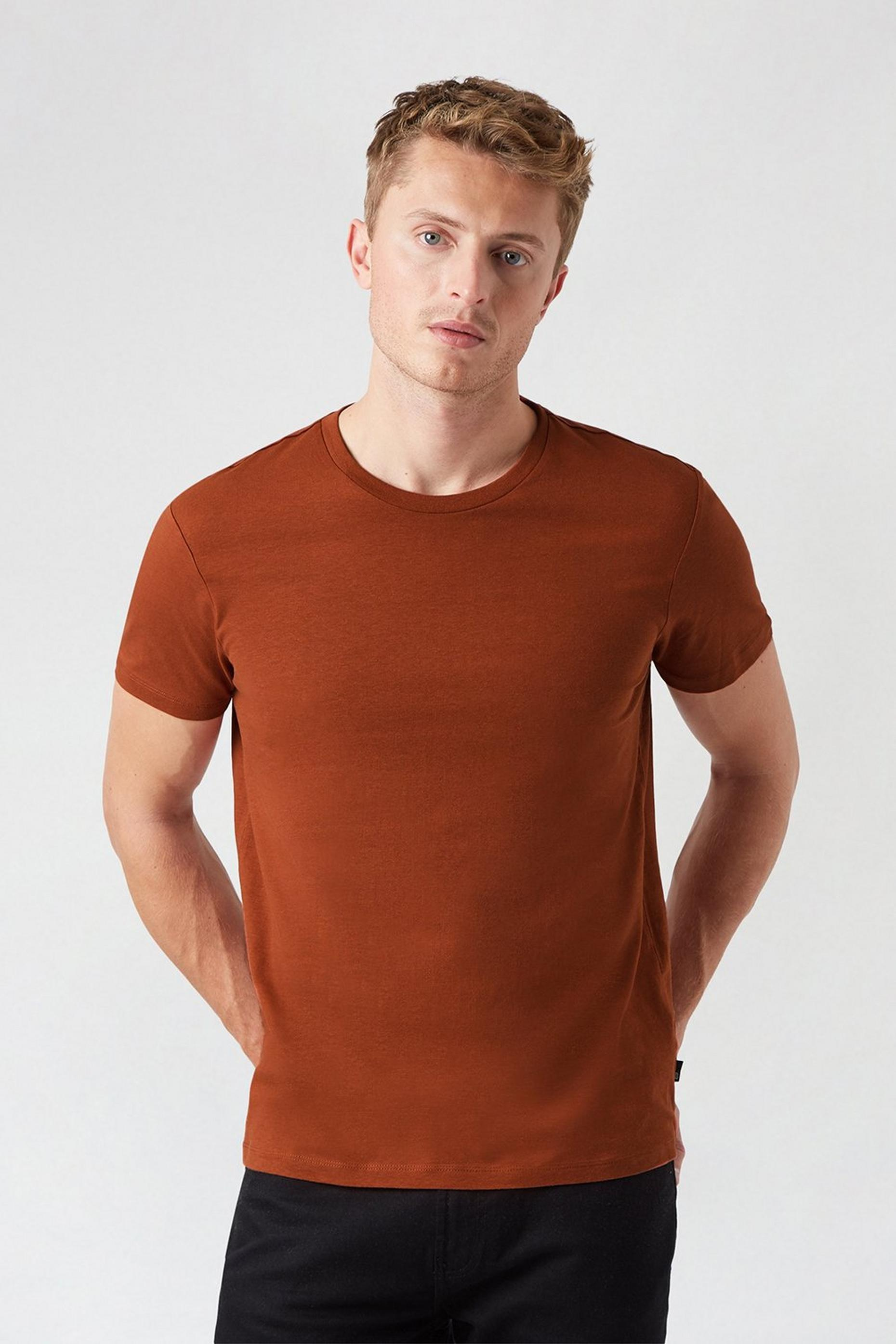 7 Pack Coloured Organic TShirts