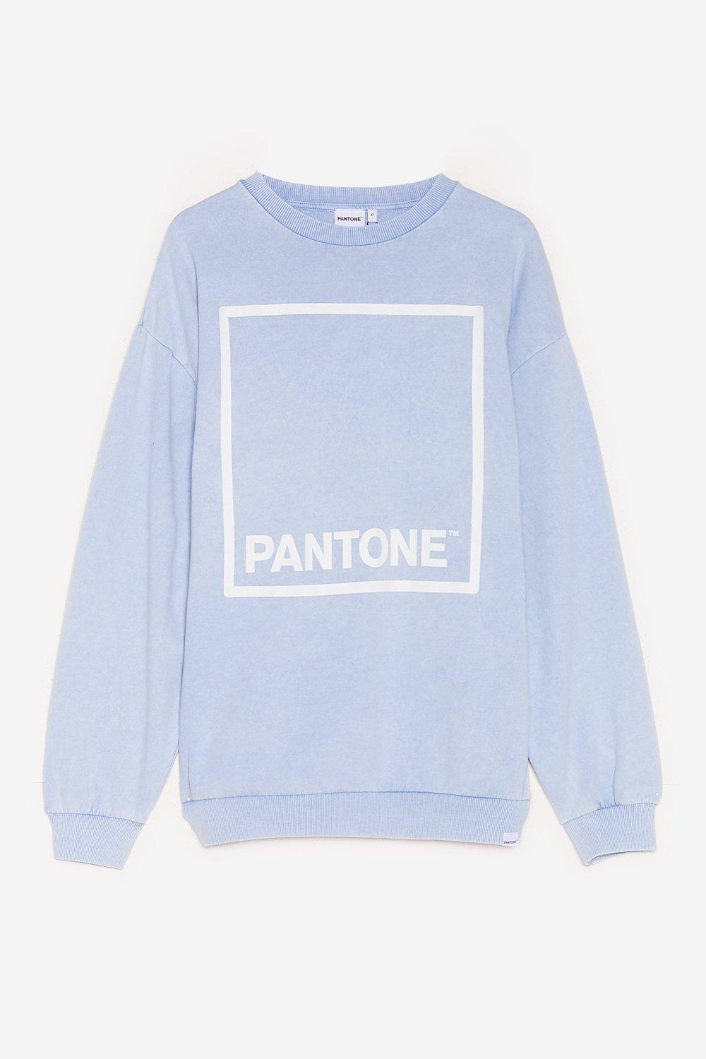 Paint a Picture Pantone Oversized Graphic Sweatshirt 17