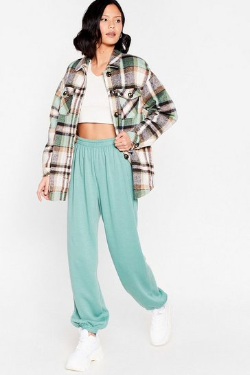 Abyss green Comfort is Queen Oversized Joggers