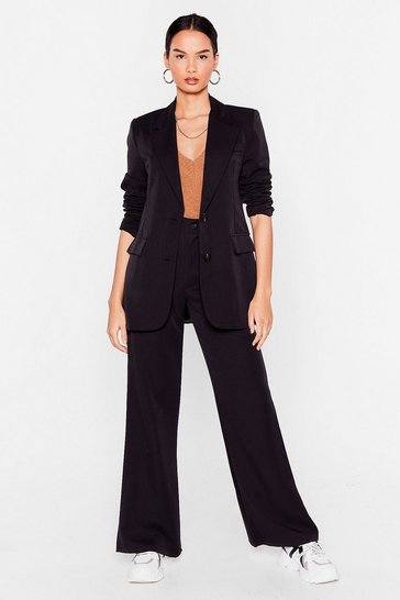 Flared Trouser Suit