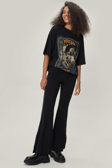 Black Faux Leather Heeled Western Ankle Boots