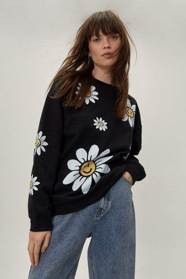 Black Acting All Quilty Longline Shirt Jacket
