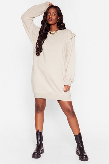 Stone Power It Up Plus Sweatshirt Dress