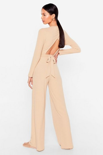 Stone Give It a Tie Wide-Leg Pants Lounge Set