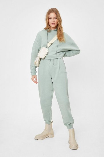 Sage Grocery Run High-Waisted Relaxed Joggers