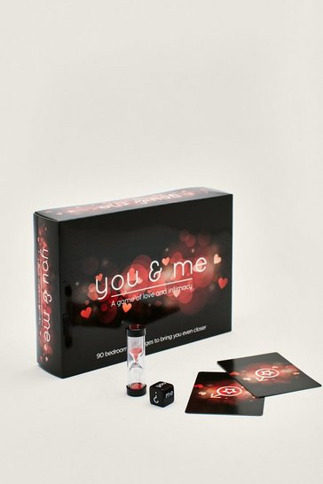 Black You and Me Intimacy Board Game