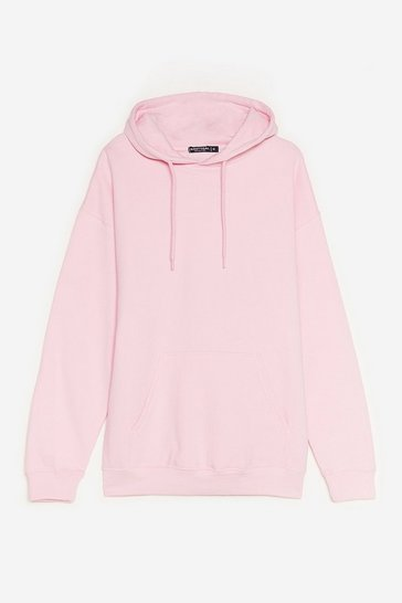 Lilac The Wait is Over-sized Petite Hoodie