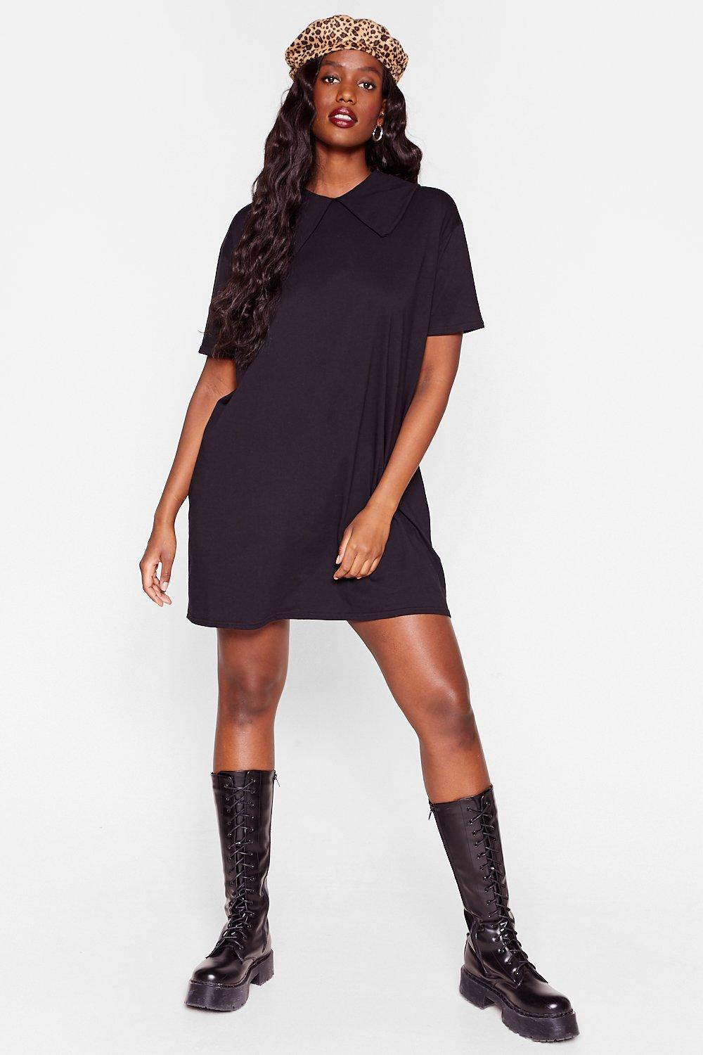 Just Come On Over Plus Tee Dress 12