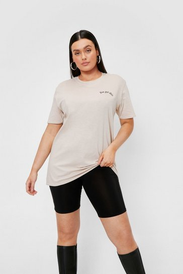 Sand Plus Size You Got This Graphic T-Shirt