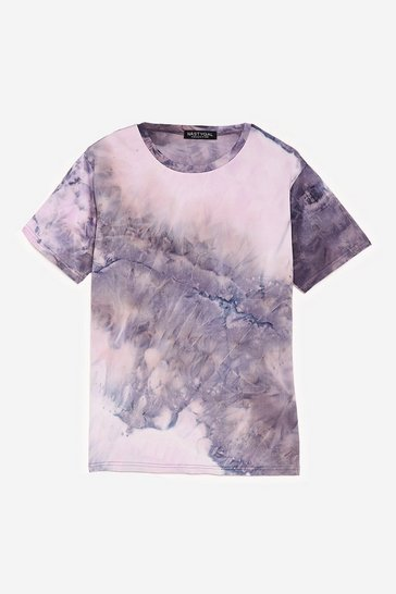 Black Hippy For You Relaxed Tie Dye Tee