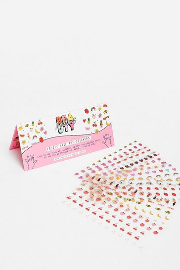 Pink Mallows Stick It to 'Em Fruity Nail Stickers Set