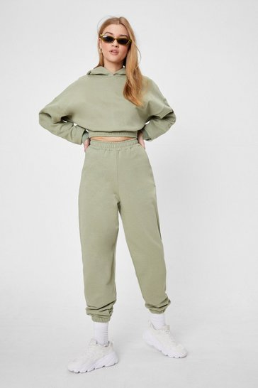 Sage Hit Pause Hoodie and Joggers Lounge Set