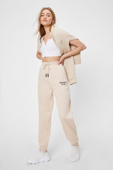 Sand The Wellness Club Graphic Embroidered Joggers