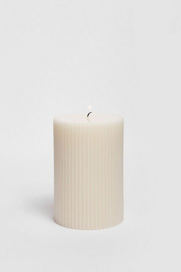 White Round Classic Candle